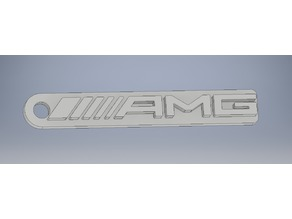 Mercedes AMG Keychain