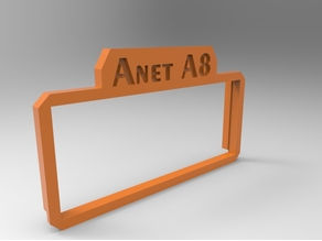 ANet LCD cover FOR AFTER FEB 2017 versions