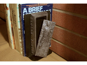 Han Solo in Carbonite - Hidden Box and Bookend