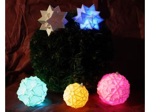 Glowing bauble (Christmas ornament)