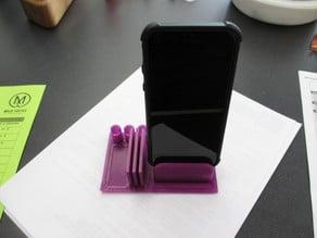 Phone Dock and Desk Organizer combo