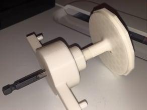 XYZ Filament Spool Re- Winder for Drill