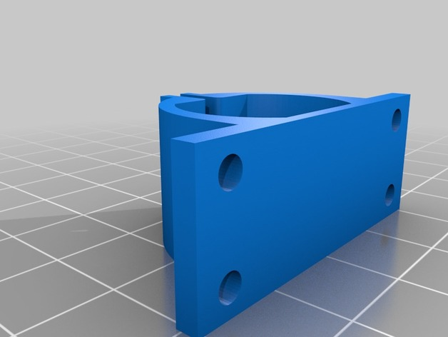 Small DC Motor Clamp by Ddiamo - Thingiverse