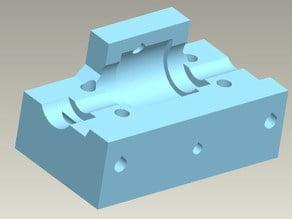 Mendel geared extruder driven-holder v2