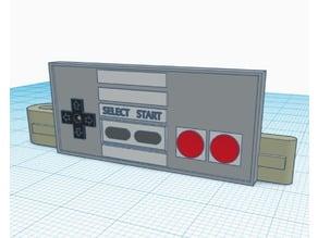 NES Controller Tie Clip