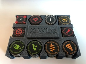 X-Wing Miniatures 2.0 Tie Swarm tokenholder