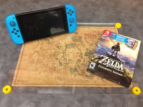 BOTW Hyrule Map Case Double-sided