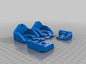 Prusa MK3 fixed Z mounts
