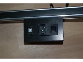 Power & USB B Socket