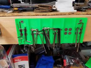 Hex Wrench Rack
