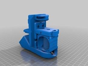 Carro X completo para e3D V5 con ventilador de capa radial