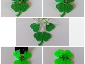 Dissected Clover Jewelry Set