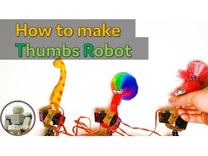 Thumbs Robot[How to make] Thumbs Robot | Motion Capture | Arduino | Servo Motor | ADC | PWM (source code)