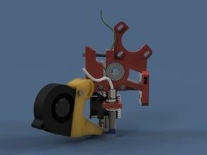 E3D v6 Extruder for Flexi filament + proximity sensor