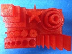 MBot 3D Printer Integrated Test