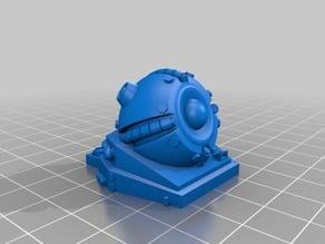 Rift Tech Grav turret REMIX/rescale+mounting clip for 1:56/28mm