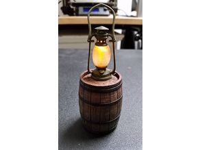 Lantern LED on Barrel