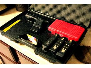 Glock 27 Gun Laser Cut Custom Foam for Gun Case