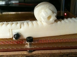 Reprap Rack and Pinion axis drive system