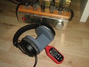 Headphone to dB meter adapter
