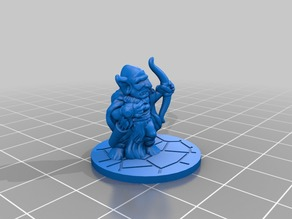 Kyn Finvara: Goblin Archer (with base)