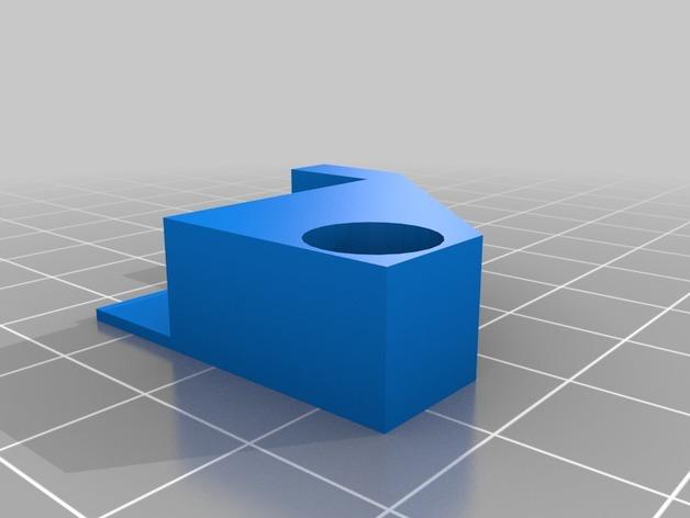 CubeX Trio bed brackets