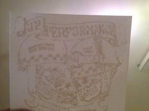 JP Performance Skull Logo Plate