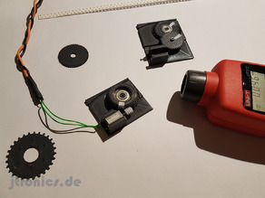 3D Printed OpenPnp SMT Feeder Worm involute sprocket Gear Drive Test