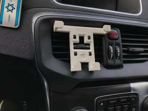 iPhone 7 Plus - Vent holder / mount - Easy to print