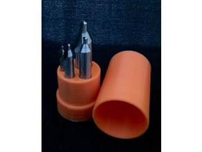 Center Drill Bit Case