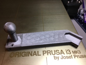 Prusa MK3 Camera Bed Mount Arm