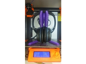 headphone stand prusa optimised