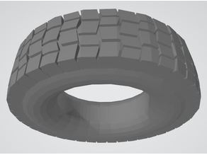 Armored car tyres