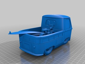 VW Surf Truck & Mini Bike