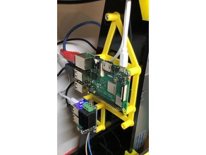 Anet A8 - Raspberry PI 3 B+ and Step down USB power holder