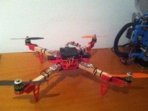 Fully parametric quadcopter