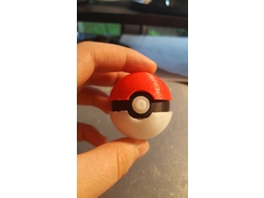 Easy and Quick print Pokeball Pokemon