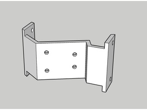 Axial gearbox mount for Trail Stomper/ D90 chassis
