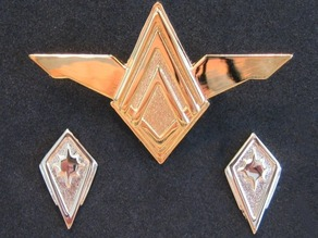 BSG - Senior officer uniform rank pin
