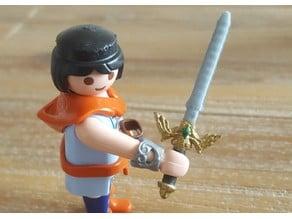 Playmobil Zelda master sword