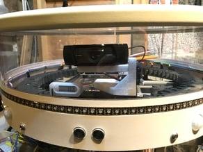 Pitch mount for Logitech C920 camera
