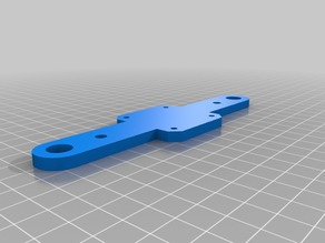 Z motor mount 5mm screws 10mm rod nema 17 motor