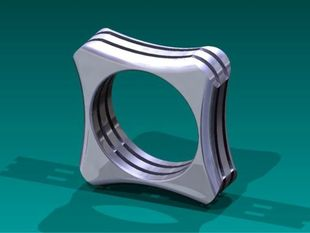 Skeleton Ring - Size 11 or Size 8