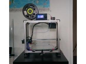 Anet A8 based aluminium framed 3d printer