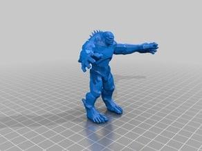 Abomination Hulk (low-poly)