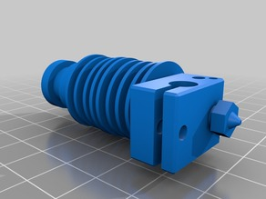 E3D lite 6 hotend CAD Model