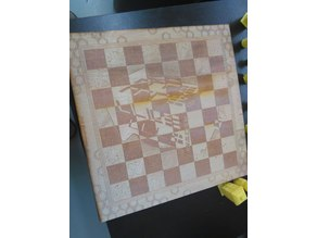 Doctor Who Laser Cut Chess Board