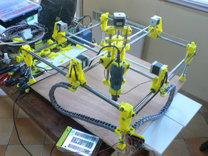 CNC remix Mostly Printed CNC