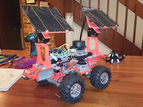 SOLAR ASSEMBLY FOR THE SLAM/GPS EXPERIMENTAL OFFROAD PLATFORM
