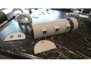 Nissen Hut in HO Scale